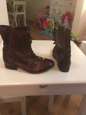River Island Brown Ankle Boots Size 7