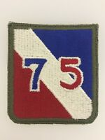 GENUINE America American U.S. Army WW2 75th Infantry Division sleeve patch badge