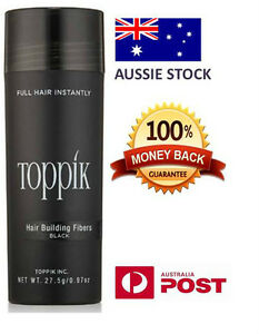 TOPPIK 27.5g PACK Hair Loss Building Fibers Alopecia Keratin Thicker Concealer