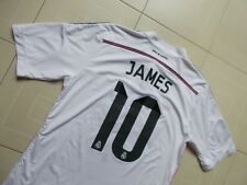 REAL MADRID CF JAMES #10 Camiseta Futbol Adidas Shirt Trikot Maglia XL