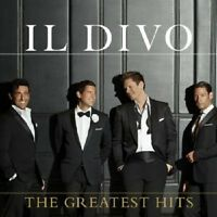 IL DIVO - THE GREATEST HITS (DELUXE)  2 CD  31 TRACKS  POP  BEST OF  NEW+