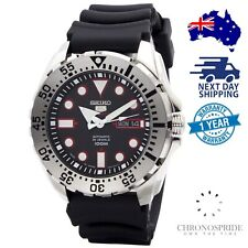SEIKO 5 Sports Japan Monster SRP601J1 SRP601 Rubber Strap Automatic Mens Watch