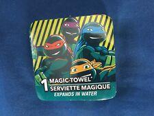 1 Teenage Mutnt Ninja Turtle Magic Washcloth *NEW* t1