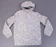 ASOS Men's Long Sleeve Leopard Print Windbreaker Jacket KB8 Multi Small