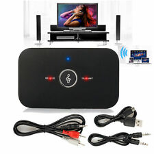 Wireless Bluetooth Transmitter&Receiver AUX RCA Adapter for Speaker PC TV Laptop