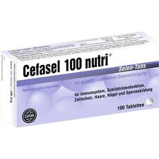 CEFASEL 100 nutri Selen Tabs Tabl.   100 st   PZN4522592