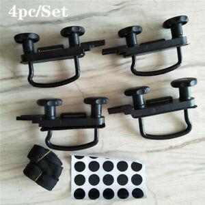 4pc/Set Roof rack U-bolt Fitting Kit Car Van U-Bolts Clamps Car Van Mounting