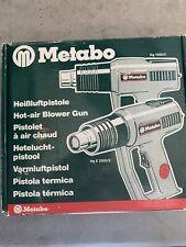 Metabo. Variable 2-speed Heat Gun, 250 Or 550 Degree Celsius.
