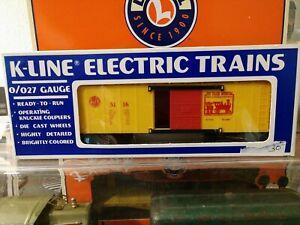 K-Line TCA Museum Box Car 5116-1986 C-9