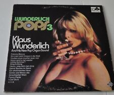 KLAUS WUNDERLICH: Pops 3 LP Record sexy Cheesecake Cover