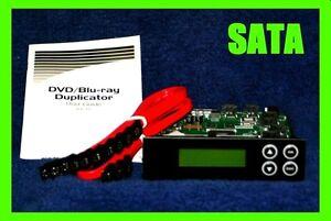 #a96 1 to 7, 1-7 SATA 16X:BluRay BDXL 24X:DVD LightScribe duplicator controller