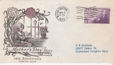 First day cover, Scott #737, Mothers, Planty 41, Top Notch cachet, 1934