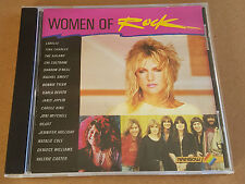 WOMAN OF ROCK CD RARE RAINBOW CBS SHARON O'NEILL NOLANS HEART BONNIE TYLER