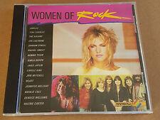 WOMAN OF ROCK CD RARE RAINBOW CBS SHARON O'NEILL NOLANS HEART BONNIE TYLER