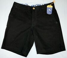 NWT $98 Tommy Bahama Black Shorts Offshore Mens Size 30 33 34 42 Cotton Blend