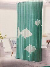 Threshold Shower Curtain Fish