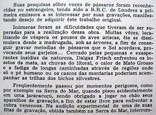 JOHAN DALGAS FRISCH Cantos de Aves do Brasil BIRD SONGS LP amazon n-mint vinyl