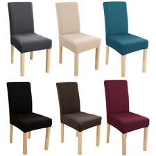 1/4/6/8pcs Elastic Dining Chair Cover Chair Slipcover Seat Furniture Protector