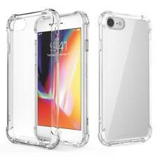 ^ Apple iPhone 8 Schale Cover Handy Tasche Schutz Silikonhülle ANTI-SHOCK KLAR
