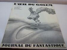 l'oeil du golem , journal du fantastique  n°5 , 1977  (eta2)