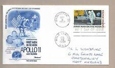 Apollo 11 FDC Washington D.C. 9.09.1969. FDC + Rare Moon Landing Post Mark