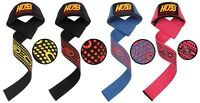 WEIGHT LIFTING GYM BAR STRAPS WRAPS EXERCISE BODY BUILDING FITNESS STRAPS WRAPS