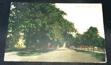 1910 Water Street Algonac Michigan Postcard