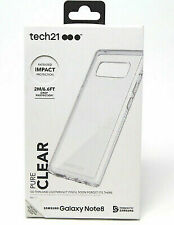 New OEM Tech21 Pure Clear Case For Samsung Galaxy Note 8