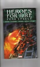 FEAR ITSELF, Heroes for Hire, Marvel Comics, Hard Cover SEALED (CC2)