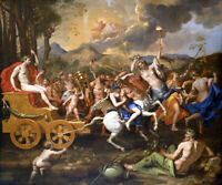 The Triumph of Bacchus oil painting Canvas Giclee Art Print L2209