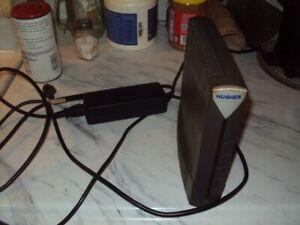 Hughes Hughesnet HT1000 Modem Satellite Internet & Power Supply