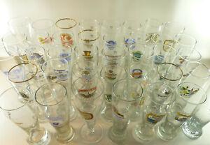 Ab 5 Euro: Sammlungsauflösung - Schönes altes Brauerei Weißbierglas, Weizenglas