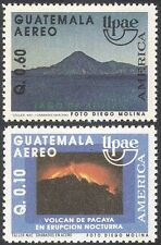 Guatemala 1991 UPAE/Volcano/Volcanoes/Eruption/Fire/Lake/Nature 2v set (n27376)