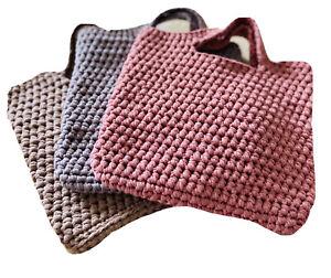 Handmade Crochet Tote Bag