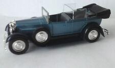 SOLIDO 1:43 AUTO DIE CAST FIAT 525N 1929 AZZURRO, BLU E NERO  ART 4154