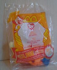 1999 Ty Teenie Beanies Lips the Fish #1 Plush Sealed in bag New