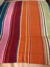 Pottery Barn Teen Pillow Sham Euro Striped Multi Colored