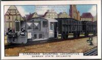 German State Railways Standard Shunting Locomotive  80+ Y/O Trade Ad Card