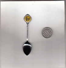 Goal-Old Melbourne Goal-Ned Kelly-Vic-Australia-[1980s Spoon]-Souvenir Spoon