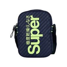 Superdry Men's Hamilton Pouch Bag Small Navy Blue