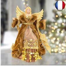 The Christmas Workshop Ange pour Sommet du Sapin Noel Fête Pas Cher Neuf Fr