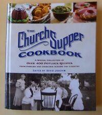 Vtg 2005 1st ed. THE CHURCH SUPPER COOKBOOK David Joachim 400 Potluck Recipes AA