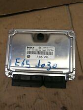BMW 7 SERIES E65 ENGINE ECU 7506280