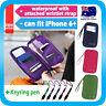 Travel Wallet Passport Holder Card Organizer Bag iPhone 7 Case Pouch +Strap+Pen