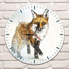 FOX DESIGN colore Design Vinile Record Orologio Da Parete Casa ARTE BAMBINI STANZA GIOCHI SHOP 1