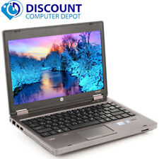 "Fast HP ProBook Laptop Computer 13.3"" PC Dual Core 4GB RAM 160GB Windows 10 Home"