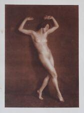 Nini & Carry Hess 1925 Photo Heliogravure 23x31cm Nude Nus Akt Rheinländerin SW