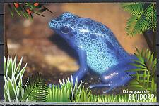 Blijdorp 150 jaar voorgefrankeerde briefkaart - postcard - gifkikker - frog