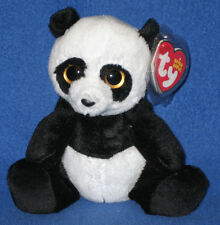 TY MING the PANDA BEANIE BABY - MINT with MINT TAGS (2012 VERSION)