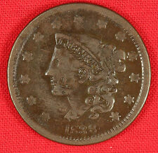 1838 Large cent, VG condition Very Good
